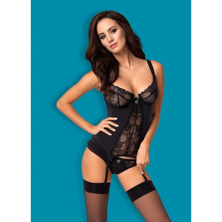 HEARTINA CORSET & THONG
