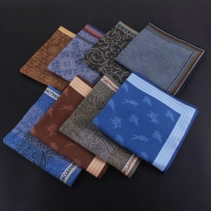 Мужские носовые платки 45850DF батистовые 10 штук в упаковке